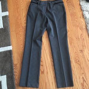 Gray bootcut pants
